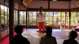 Makiko Sakurae at Jikkoin, ohara, 25.10.15